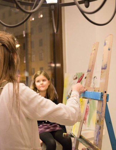 Liisa Rasinkangas painting