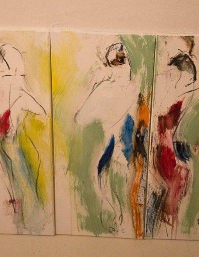 Liisa Rasinkangas_Live Dance painting